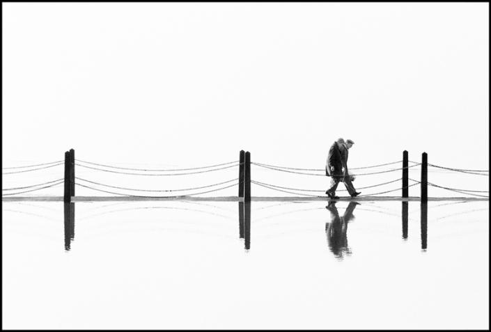 Couple on Causeway Marine Lake