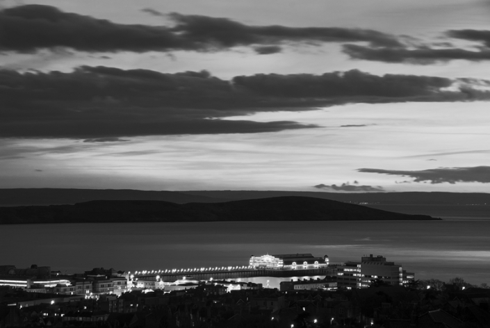Image 18 Weston Bay and Old Grand Pier at Night
