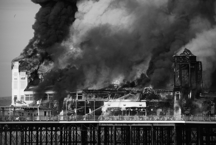 Image 19 Grand Pier on Fire