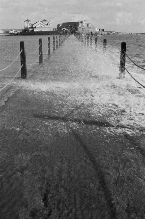 Image 5 Waves Breaking over the Causeway Marine Lake